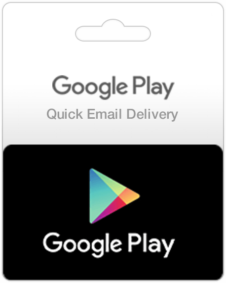 Google Play Store Gift Card (Email Delivery