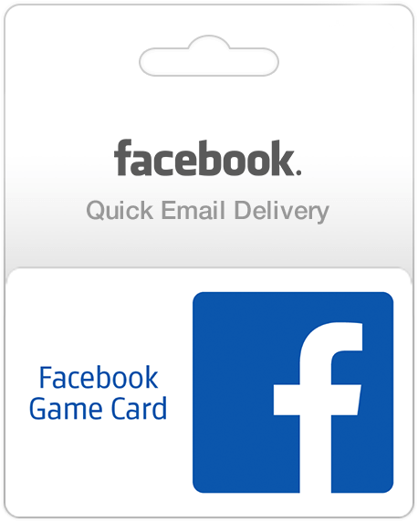 Facebook Gift Card For Games And Apps (Email Delivery