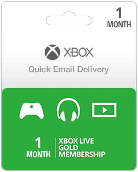 1 Month USA Xbox Live Gold Subscription (Email Delivery)